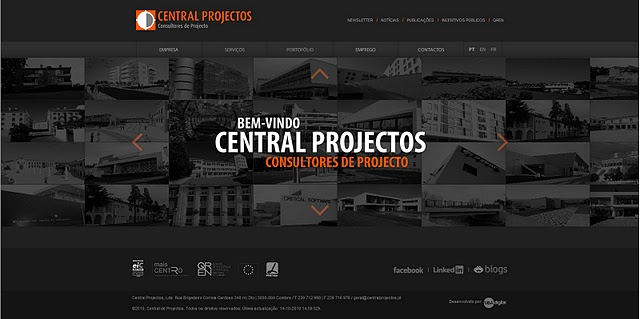 WEB SITE CENTRALPROJECTOS
