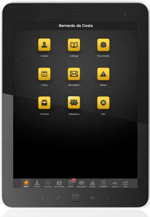 Aplicação Mobile com integração direta ERP Sage Next