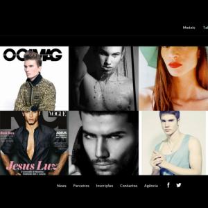 Novo website face models desenvolvido pela M&A Digital
